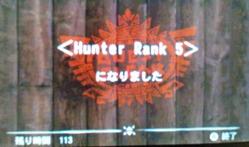 ハンターランク5