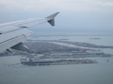 空からのヴェネツィア