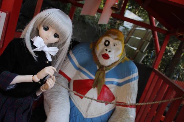 娘(人形)と「まぼろし博覧会」に行ってきたで!