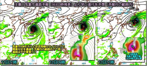 台風GFS191009