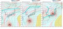 拡大台風550図171017