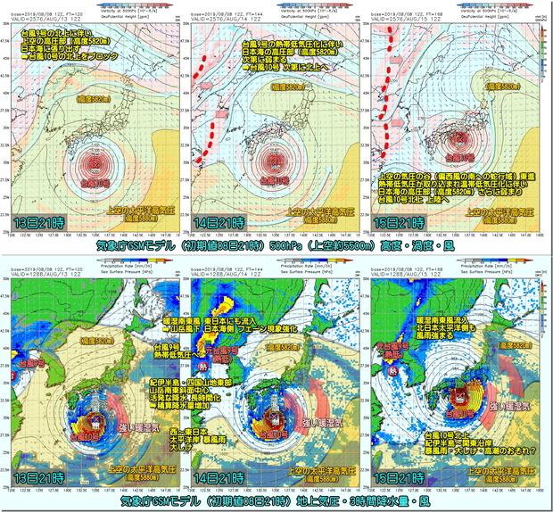 台風GSM190809