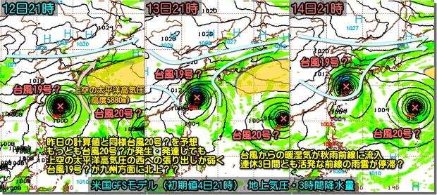 台風GFS191005
