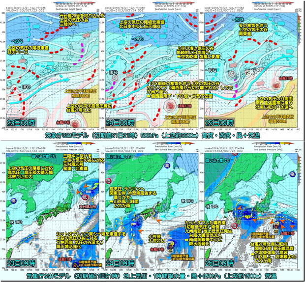 GSM台風21号3コマ191022