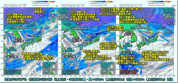 GSM寒波3コマ181204