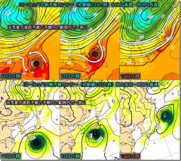 台風ECMWF191008