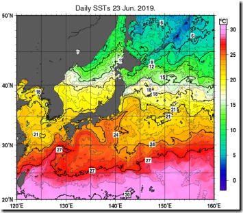 海面水温190625