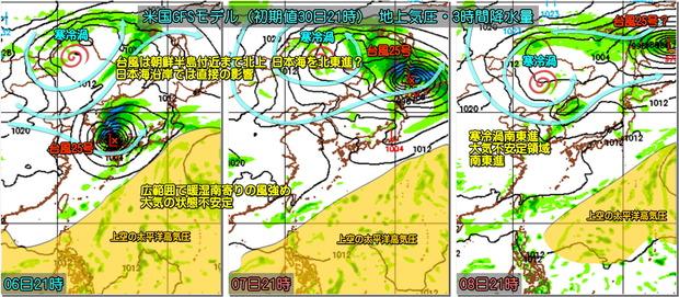 台風25号GFS181001