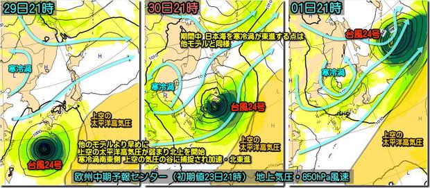 台風ECMWF180924