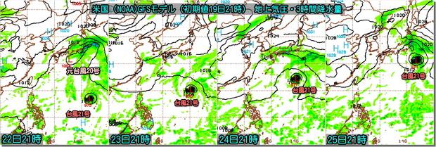 台風GFS191020