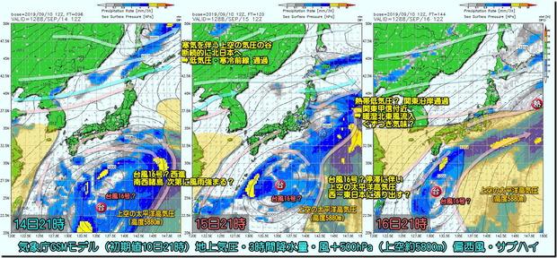 台風16号GSM190911