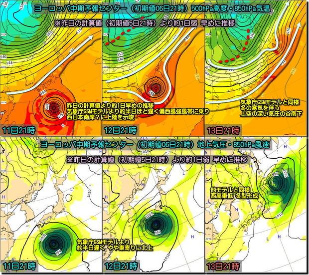 台風ECMWF191007