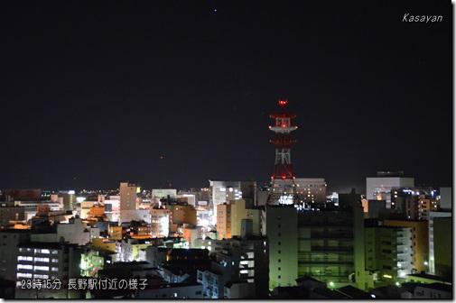 地震後の長野駅付近141122