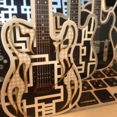 ギター近影