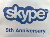 Skype 5th Anniversary