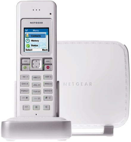 Netgear announces dual-mode DECT Skype phone