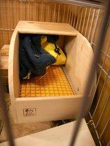 巣箱とヒーター