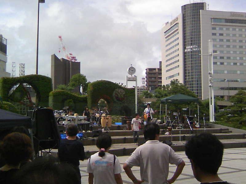 今日はドリームフィールド浜松駅前ライブ!!
