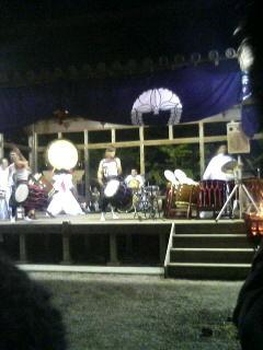 奈良県生駒は往馬大社の宵宮祭