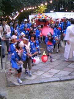 往馬大社の火祭り・宵宮祭2