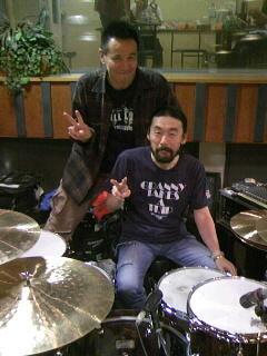 ドラムス・カースケさん!!!