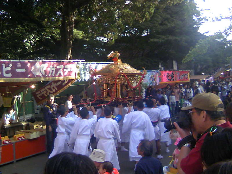 往馬大社 '09火祭り