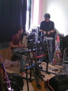 ドリームフィールドのドラム教室!