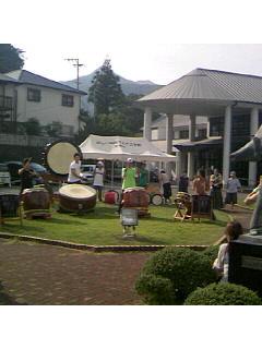 どこでも和太鼓は人気です!!
