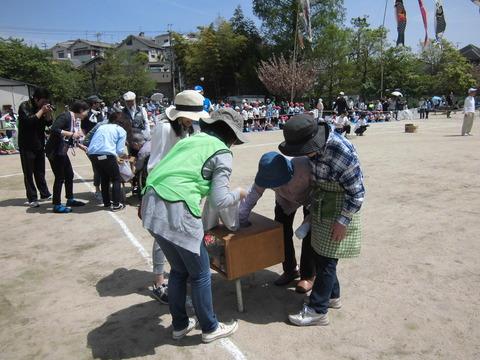 第48回 春日丘八幡宮春季大祭 体育祭参加