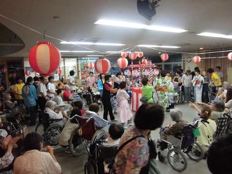 春日丘荘 盆踊り大会