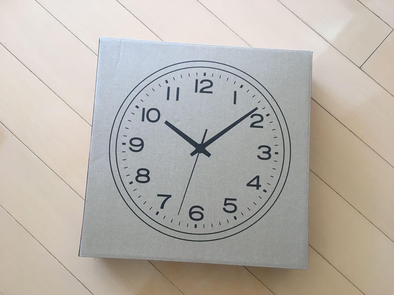 無印良品 アナログ時計 大