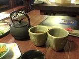 鉄瓶のお茶