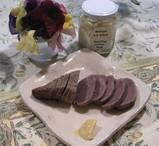 牛モモ肉燻製