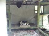 中筋ウタキの拝所の内部