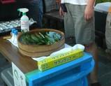 地蔵盆の胡瓜