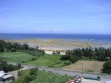 奄美空港の眺め