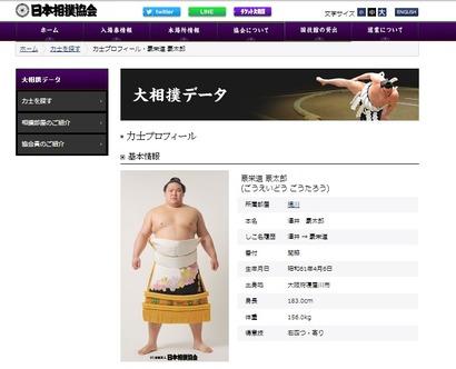 大相撲データ@日本相撲協会