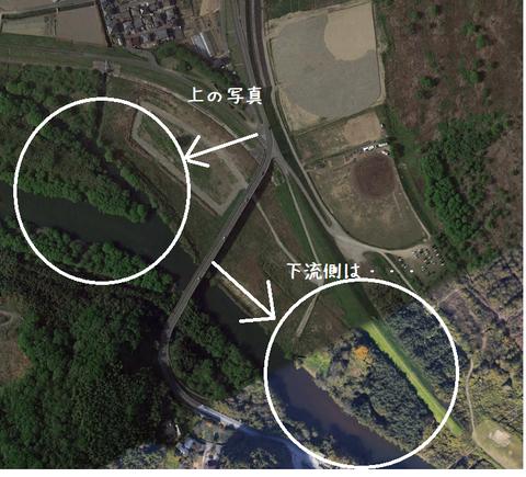 小田川合流点下流