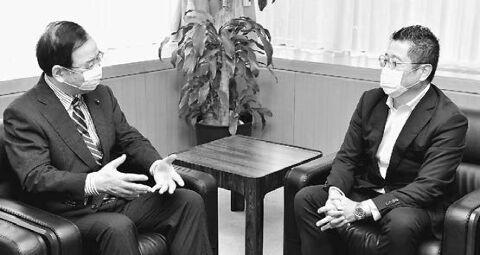 【パヨク】志位委員長が離任の韓国公使と懇談 歴史への真摯な反省と行動が日韓友好のために不可欠