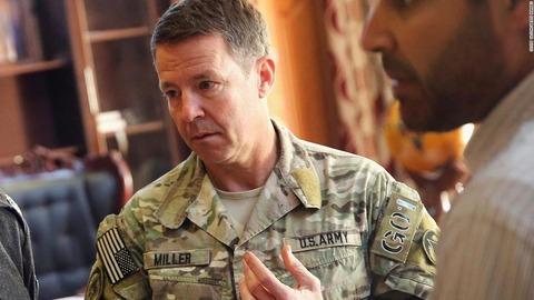 【アフガニスタン米軍基地銃撃事件】アフガン駐留米軍司令官スコット・ミラー陸軍大将、銃手に自ら応戦の構え 襲撃受け