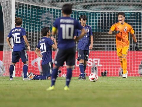 【アジア大会/サッカー】日本が韓国に1-2で敗れアジア大会銀メダル!