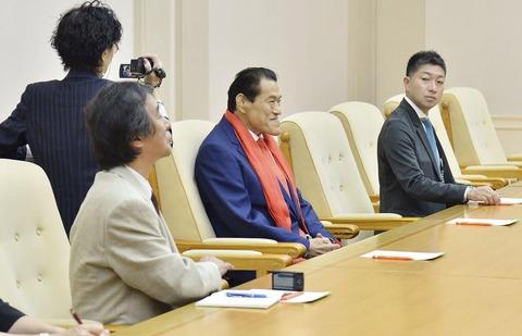 【北朝鮮】猪木にTBS金平が同席している。 日本の闇。
