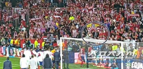 【無知はお前だ】 光復節なのに…サッカー・アトレティコの応援に「戦犯旗」また登場、無知の産物