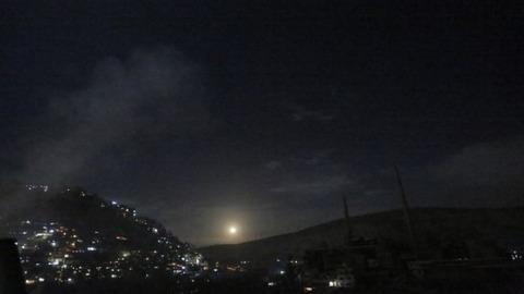 【シリア内戦】イスラエル軍、シリア内のイラン標的に攻撃と発表