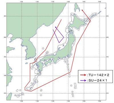 【定期便】ロシア軍の哨戒機2機が日本周辺を一周するように飛行。防衛相は飛行の意図を分析中