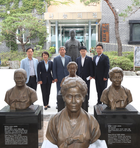 【北の工作機関】「ナヌムの家を人権と平和教育の場にしたい」=京畿道議会議長