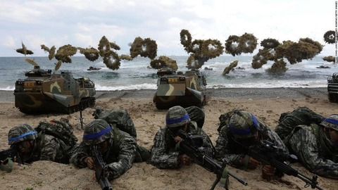 【米韓】国防総省、米韓軍事演習の中止を発表 米朝交渉に配慮