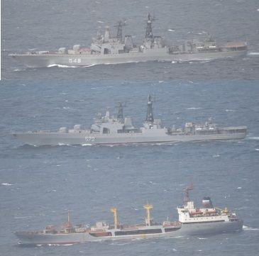 ロシア艦艇