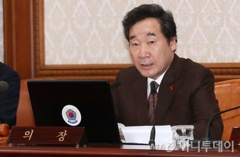 【韓国】李洛淵首相、韓日レーダー対立で『日本政府は自制すべき』と警告