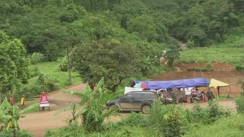【タイ洞窟救出作戦!】9日も4人を救出  全部で8人救出! 残り5人
